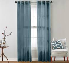 Sheer Teal Curtains 24 Best Solid Color Voile Sheer Curtains Images On Pinterest
