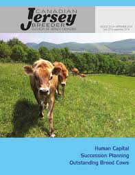 2014 canadian jersey breeder aug sept by canadian jersey breeder