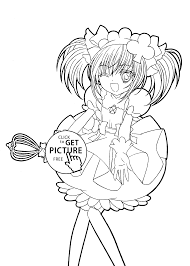 chara funny anime coloring pages for kids printable free