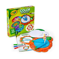 amazon com crayola color spinout marker art activity and art