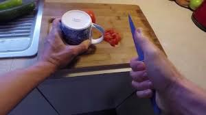 how to sharpen kitchen knives at home how to sharpen kitchen knife no special tools