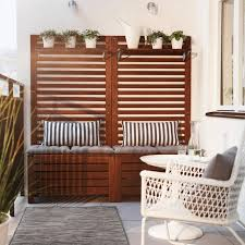 Ikea Vasteron Bench Balcony Chair And Table Design Ideas For Urban Outdoors