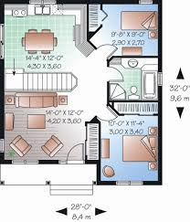 cottage style house plan 2 beds 1 00 baths 835 sq ft plan 23 2198