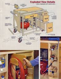 Woodworking Projects Garage Storage by 93 Best Workbench Images On Pinterest Workshop Ideas Woodwork