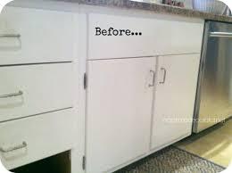Plastic Kitchen Cabinet Doors Adding Trim To Kitchen Cabinets Doors Flat Trim Molding Flat