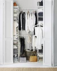 Shallow Closet Organizer - clothes rail for shallow closets from ikea 10 organizing tips