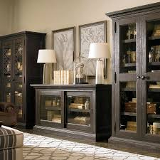 veneer sliding door credenza bassett home furnishings