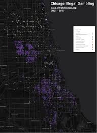 Chicago Tribune Crime Map by Chicago Data Mantascode