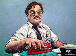 Office Space Stapler Meme - print 5x7 milton office space red stapler mike judge