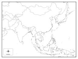 Oceania Map Map Quiz Asia Grahamdennis Me