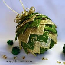 18 best quilted pinecone ornament images on pinecone