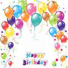 birthday balloons birthday balloons background clip library