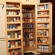 hand made kitchen pantry double fold out doors by homecoming