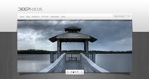 deepfocus photography wordpress theme