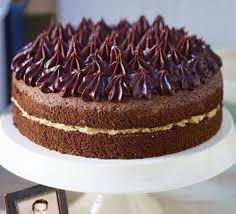 john whaite u0027s chocolate chiffon cake with salted caramel butter