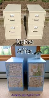 file cabinet storage ideas fancy file cabinet decoupage map i have to do this with my classroom