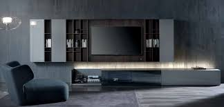 Tv Wall Units Contemporary Tv Wall Unit Wood N C Ground Case By Massimo