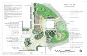 campus center amphitheatre design at west valley college garden