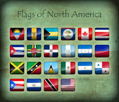 South America Flags Flags Of North America Icons By Kristo1594 On Deviantart
