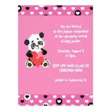 Panda Baby Shower Invitations - panda themed baby shower invitations u0026 announcements zazzle co nz