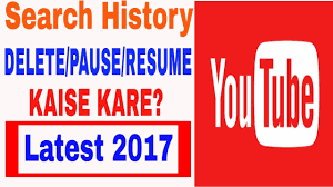 Pause Resume You Tube Search History Delete Pause Resume Kaise Kare Latest