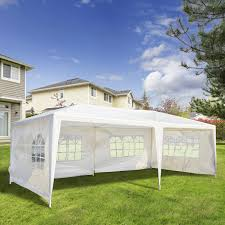 outsunny 10x20 ft pop up tent folding gazebo party wedding tent