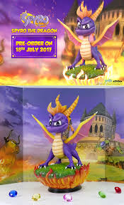 spyro the dragon enchanced trilogy ps4 cover by purpledragon267 on