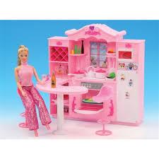 Barbie Dolls House Furniture Online Get Cheap Barbie Kitchen Furniture Aliexpress Com
