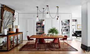 Dining Room Designs With Simple And Elegant Chandilers by Step Inside 47 Celebrity Dining Rooms Photos Architectural Digest