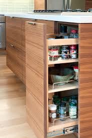 Contemporary Walnut Kitchen Cabinets - mid century kitchen cabinets kitchen modern with barstool frosted