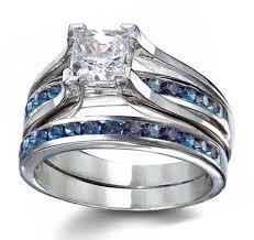 silver wedding ring sets silver wedding ring sets