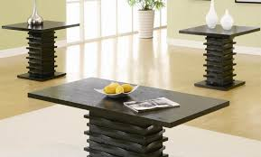 Black Living Room Table Sets 64 Most Indispensable Black Rectangle Unique Shaped Legs Cheap End