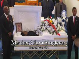 clara singleton funeral services 2016