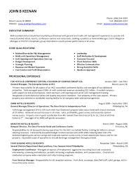 Hotel Resume Format Resume Template Job Fast Food Restaurant Manager Objectives For