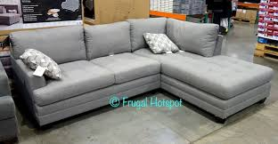 Sectional Sofa With Chaise Costco Costco True Innovations Fabric Sofa Chaise 799 99 Frugal Hotspot