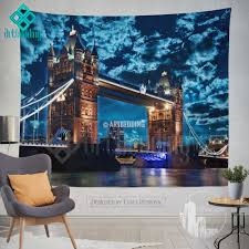 london tower bridge wall tapestry tower bridge at night wall london tower bridge wall tapestry tower bridge at night wall tapestry london views wall decor london famous building view wall interior