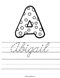custom cursive worksheets practice signature practice biztown