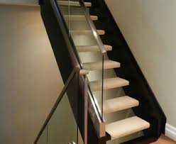open tread stair home design runners
