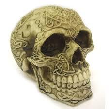 celtic skull statue skull statue gifts human skull
