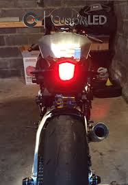 2015 2017 yamaha yzf r1 blaster x integrated led tail light custom led