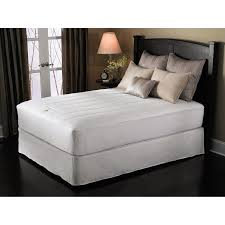 sunbeam basic electric mattress pad walmart com