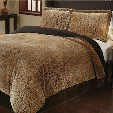 Leopard Bed Set Bedding Foxy 7 Leopard Animal Kingdom Bedding Comforter Set
