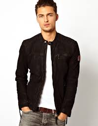 leather biker jackets for sale pepe jeans pepe leather biker jacket gig slim fit in black for men