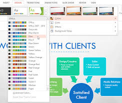 powerpoint 2013 modifying themes full page