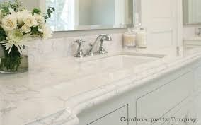 Quartz Countertops Colors For Kitchens Which Granite Looks Like White Carrara Marble