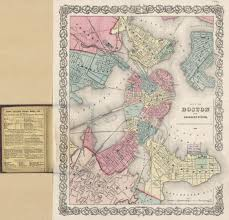 Map Room Boston by Putting Boston On The Map Land Reclamation And The Growth Of A