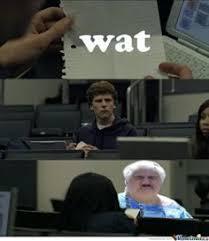 Wat Old Lady Meme - churn down for wat wat pinterest