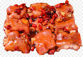 cuisine trotter tocino and sour sichuan cuisine pigs trotters and sour