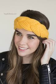 braided headband hopeful honey craft crochet create goldfinch braided headband