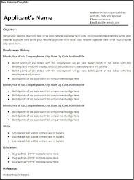 Resume Format For Job Download by Free Resume Template Download For Word Health Symptoms And Cure Com